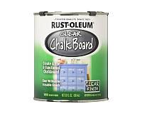 Лак латексный RUST OLEUM CHALK BOARD CLEAR для школьных досок матовый 0,887л
