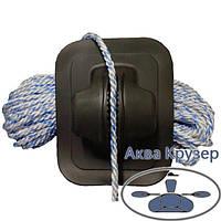 Якорная веревка канат для якоря d 10мм для надувных лодок ПВХ