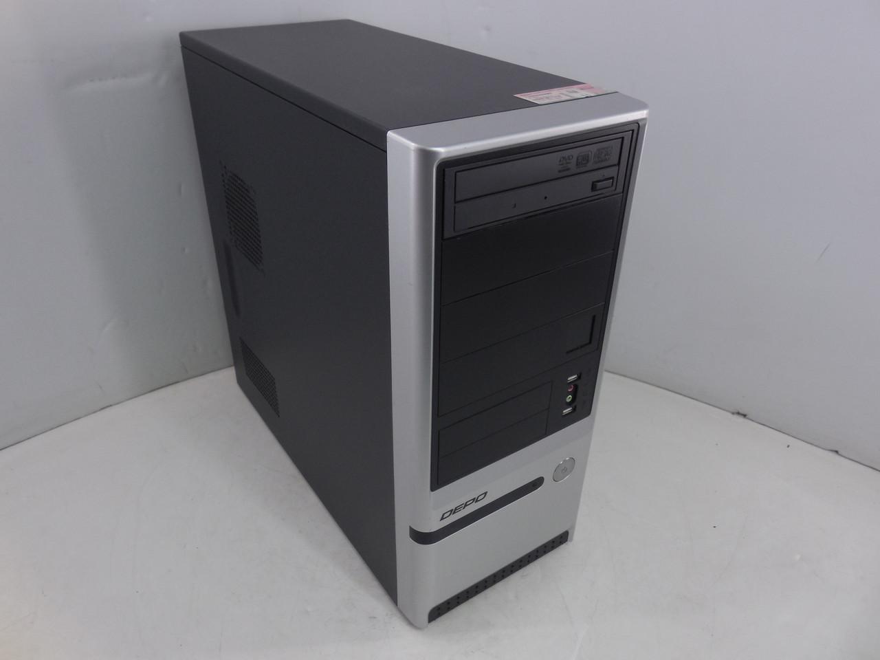Системный блок, компьютер, Intel Core i3 2120, 4 ядра по 3,2 ГГц, 8 Гб ОЗУ DDR-3, HDD 250 Гб, видео 1 Гб