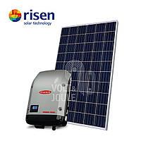 Солнечная сетевая электростанция 10 кВт (Premium)