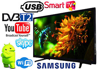 "LED Телевизор Samsung 40"" SMART TV, DVB-T2 4018S Реплика Wi-Fi, USB HDMI"