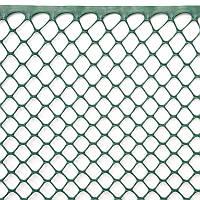 Сетка для растений, 1x5 м, рулон, цвет-зеленый, 15 мм, шестиугольные отверстия