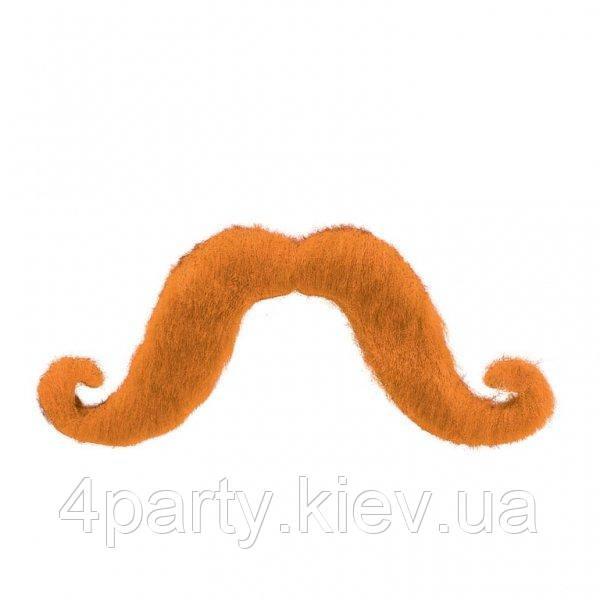 Усы Болельщика (оранжевые) 240216-399