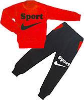 04.04.03 Водолазка + штаны Спорт (красный) р.28-36