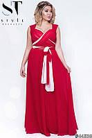 Женское вечернее платье батал