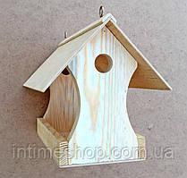 """Скворечник из дерева, деревянная кормушка для птиц, """"Иволга"""", домик для воробьев"""