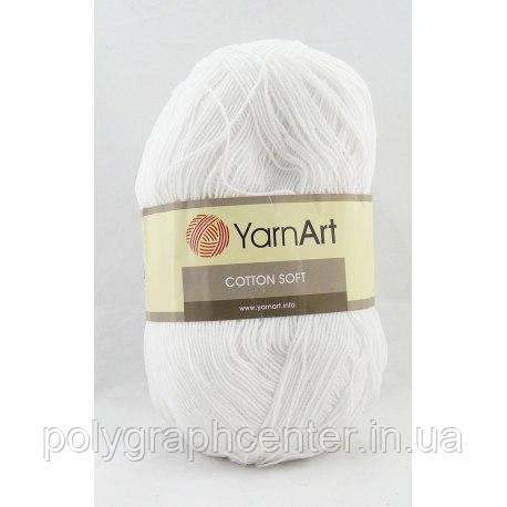 Пряжа Yarn Art Cotton Soft 01
