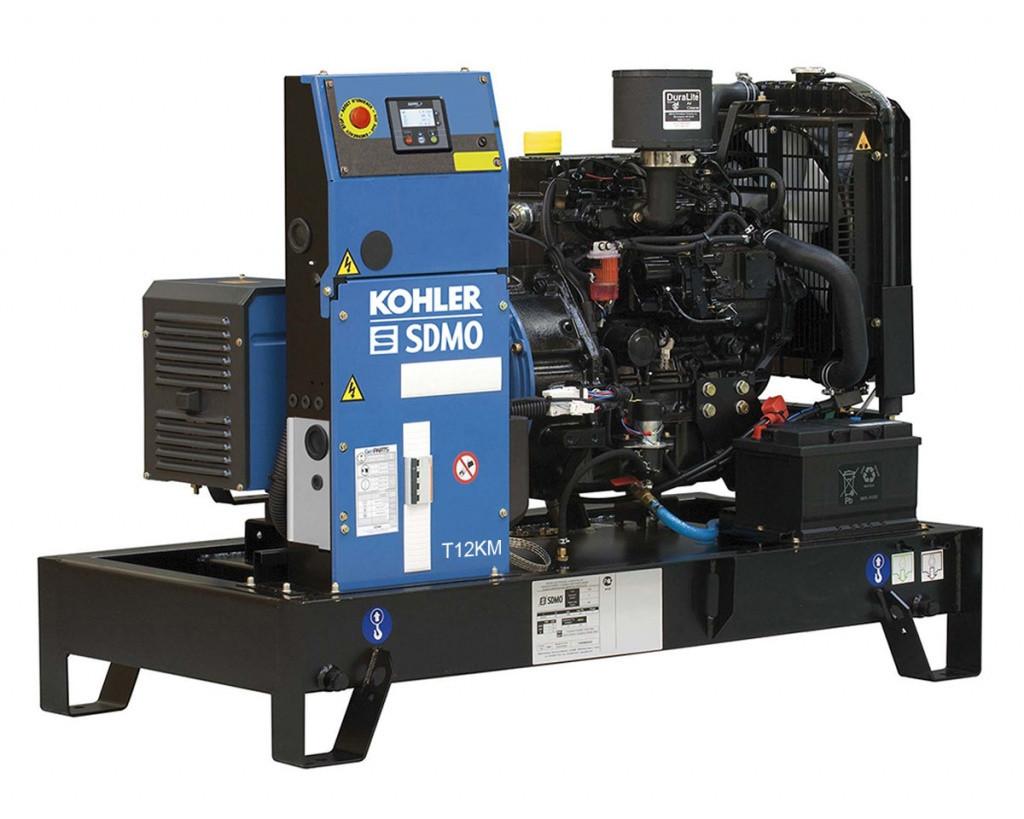 Дизельный генератор SDMO T12KM (10 кВт)