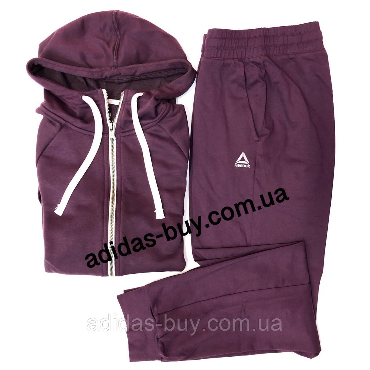Костюм женский оригинальный джемпер и штаны Reebok DU4895 цвет: бордовый сезон:весна