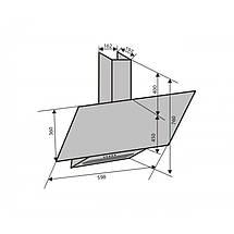 Вытяжка VENTOLUX MIRROR 60 BG/X (750) PB, фото 3