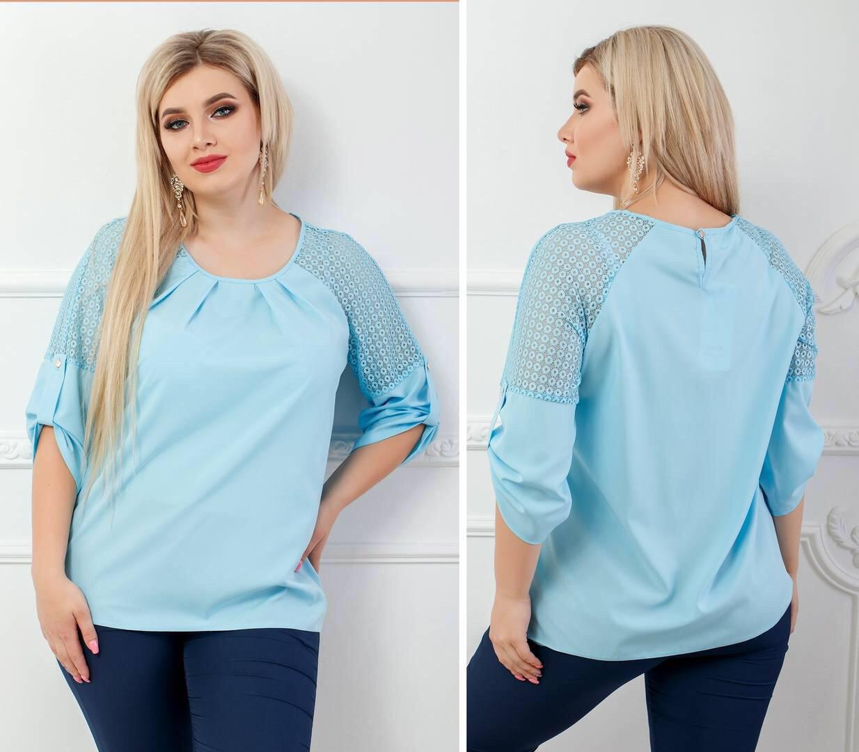 Блузка для пышных дам