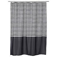 IKEA VADSJON (103.490.66) Занавеска для душа, темно-серый