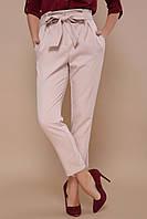 Светлые укороченные брюки, фото 1