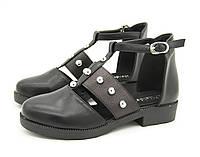 Туфли для девочки Цвет -Черный Размеры: 32,33,36