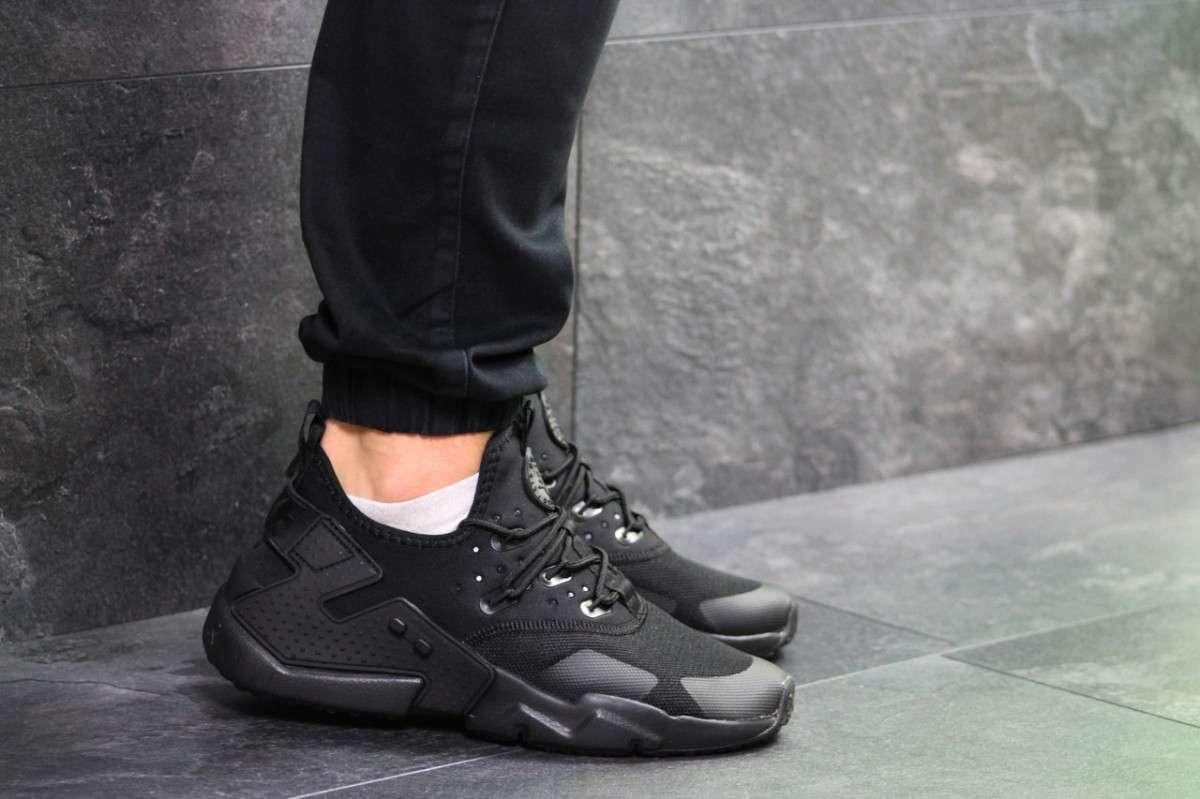 2081343d1 ... Кроссовки мужские весенние черные Nike Air Huarache (реплика), ...