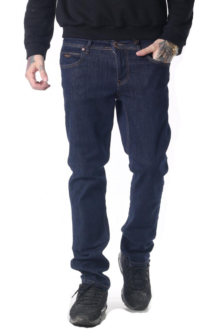 Мужские джинсы Franco Benussi 18-734 темно-синие