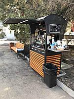 Передвижной прилавок, кофейня, фото 1