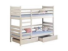 Двухъярусная кровать Camelia Ларикс 80x190 см.