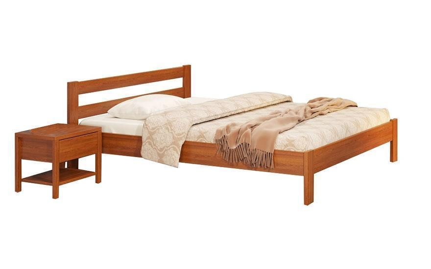 Двуспальная кровать Camelia Альпина 180*200 см.