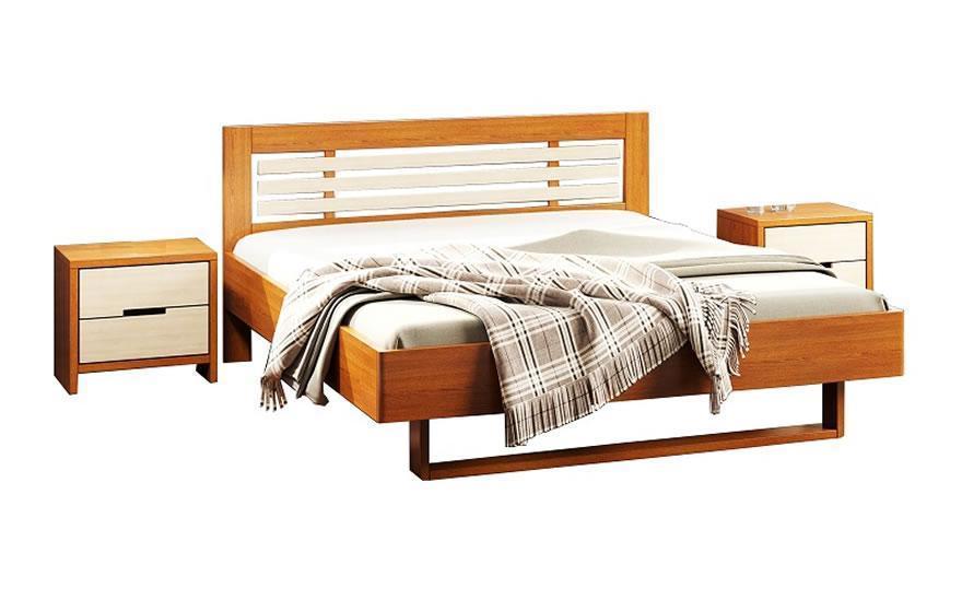 Двуспальная кровать Camelia Лантана 120*200 см.