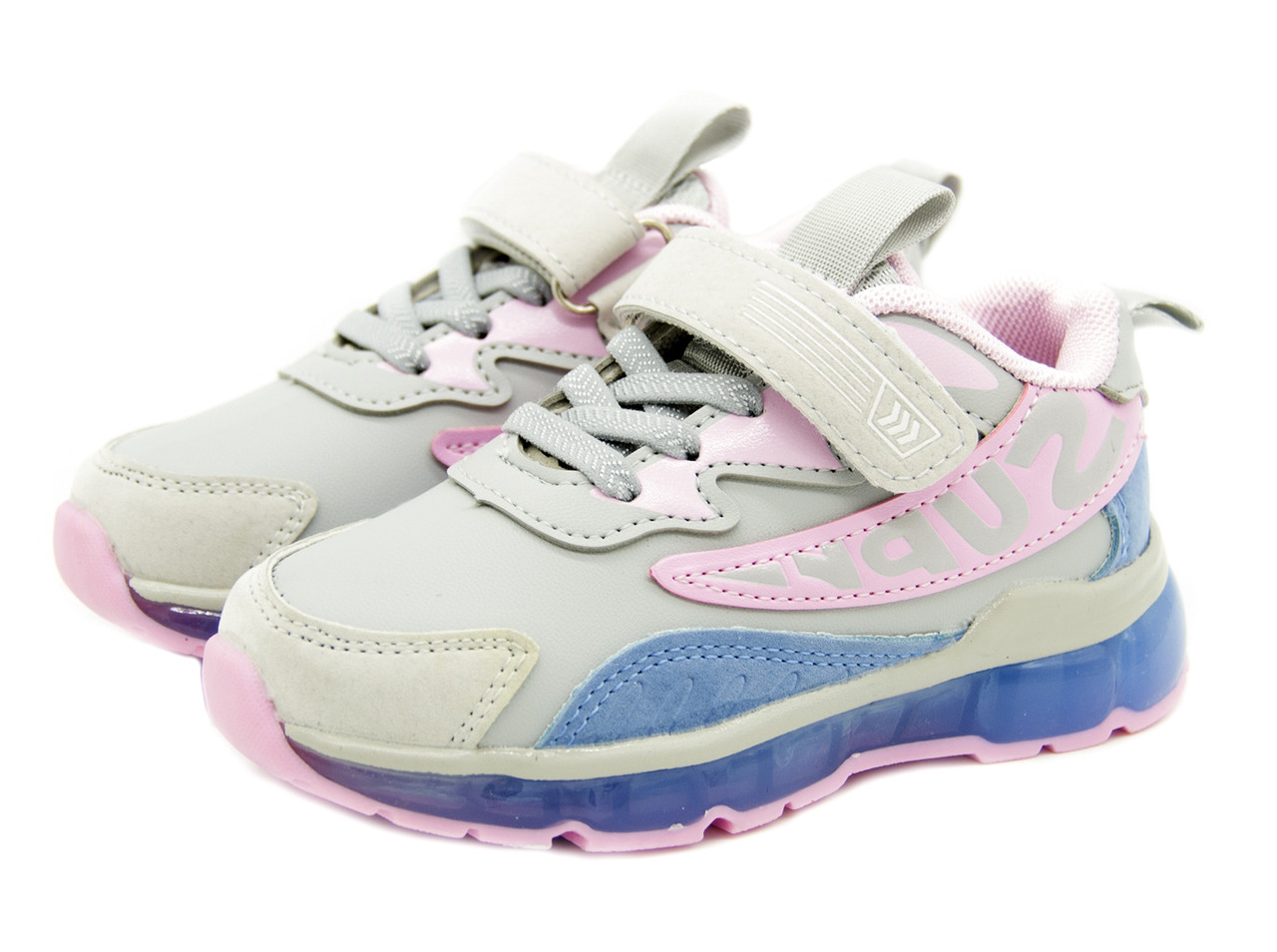 Кроссовки для девочки Цвет -Cерый
