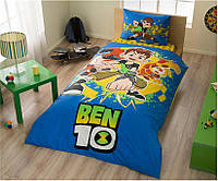 Детское (подростковое) постельное белье TAC Ben 10 с простыню на резинке в подарочной коробке