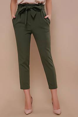 Стильні жіночі штани з поясом