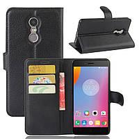 Чехол-книжка Litchie Wallet для Lenovo K6 Note Черный