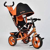 Велосипед 3-х колёс. 5700 - 4780 Best Trike ОРАНЖЕВЫЙ, ПОВОРОТНОЕ СИДЕНЬЕ, КОЛЕСА EVA (ПЕНА) переднее колесо d=28см. задние d=24см (ОПТОМ) (ОПТОМ)