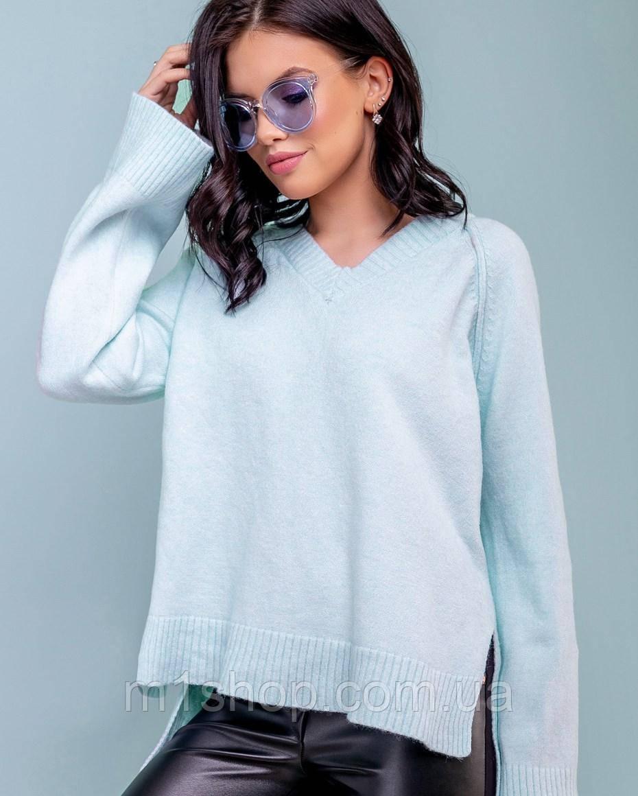 Женский голубой пуловер (3276 svt)