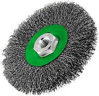 Щетка Bosch, нержавеющая, 115 мм, 0,3 мм, M14 (2608622107)