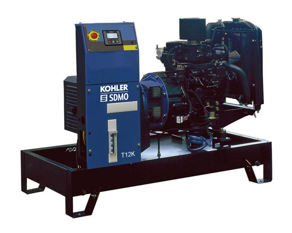 Дизельный генератор SDMO T12K (8.4 кВт)