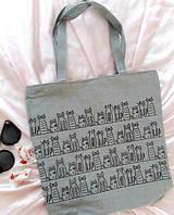 Пляжная серая сумочка средних размеров. Размер: 36х38 см, фото 1