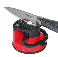 Точилка для кухонных ножей Knife Sharpener H0180 | ножеточка на присоске, фото 1