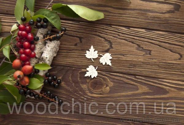 Чипборд набор кленовые листочки