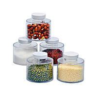 Набор баночек для специй Spice Tower Carousel из 6 сосудов | спецовник 6 шт