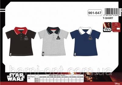 Поло на мальчика  Star Wars от Disney, 4-12рр.