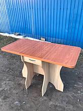Стол раскладной Метелик дуб сонома + столешница кореница