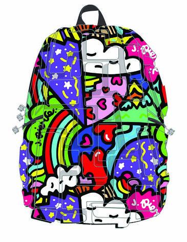 """Рюкзак """"Artipacks Full"""", цвет HEART 2 HEART (цвет мульти), фото 2"""