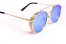 Женские очки 2018 (8308-3) голубая линза, фото 2