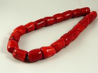 Заготовка из красного коралла,крупные куски,красные , фото 1