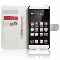 Чехол-книжка Litchie Wallet для Lenovo K5 Note A7020 Белый
