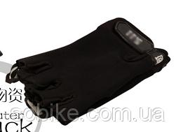 Ультра-тонкие дышащие военно-тактические быстросохнущие открытые перчатки 5.11 ЧЁРНЫЙ M