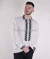 Заготівля чоловічої сорочки для вишивки нитками/бісером БС-136ч
