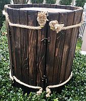 Мини-бар из натурального дерева, оригинальный подарок 33х33х38