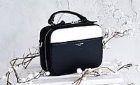 Квадратная сумочка в черном цвете от David Jones Арт.01227