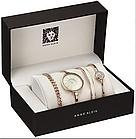 Женские наручные часы Anne Klein с 3 браслетами в подарочной упаковке  Наручний жіночий годинник, фото 5