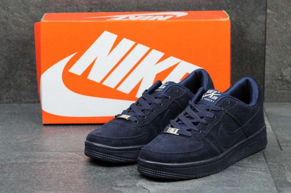 203a86a2 Мужские кроссовки Nike Air Force темно синие 2728: продажа, цена в ...