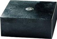 Черный мрамор. Размер 65x65x30