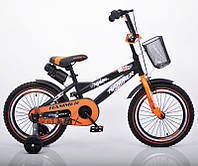 Велосипед 2-х кол. Hammer 16'' S600 черно-оранжевый